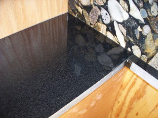Scratches On Absolute Black Granite